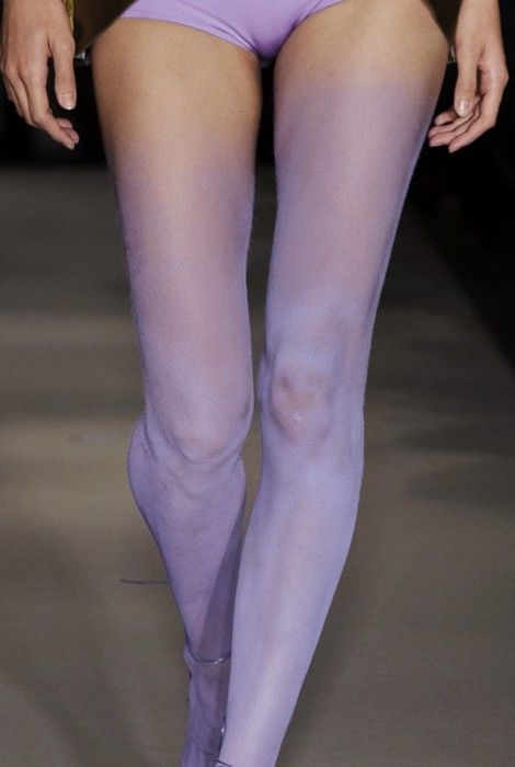 Frou Frou Fashionista Lingerie Tumblr Blog: Purple Tights, Fashionista Lingerie, Inspiration, Body Paintings, Colors, Legs, Lavender Violets Purple Eggpl, Purple Shadow, Lilacs
