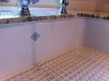 Rohl Shaws Sinks Original Fireclay Apron Sink                    - RC3018
