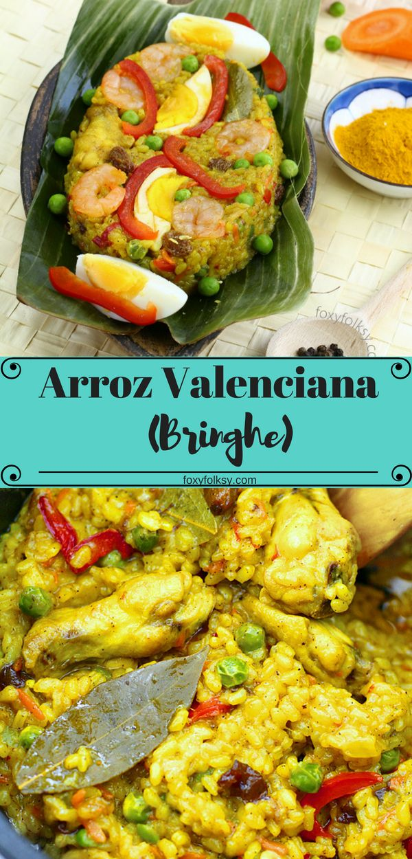 Simple Arroz Valenciana Recipe Recipe Arroz Valenciana Recipe Valenciana Recipe Easy Chicken Recipes