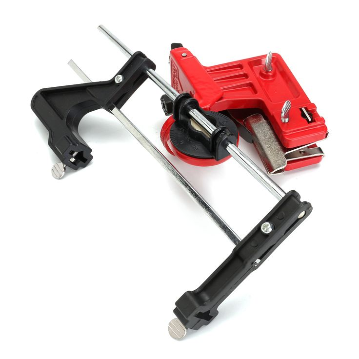 how to use a chainsaw chain sharpener