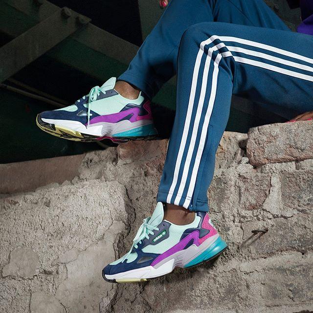 Nya färger på Falcon by adidas Originals släpps vid midnatt
