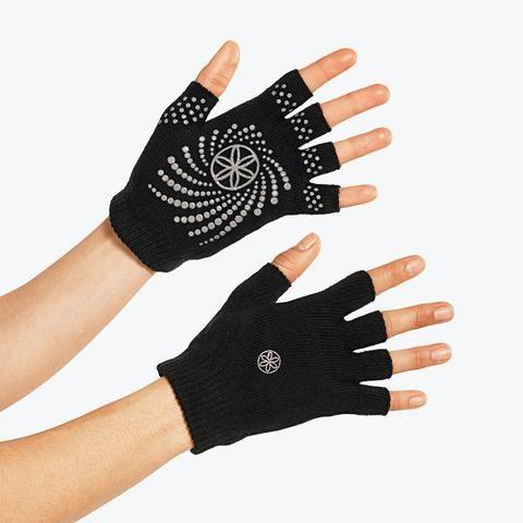 Grippy Yoga Gloves gray