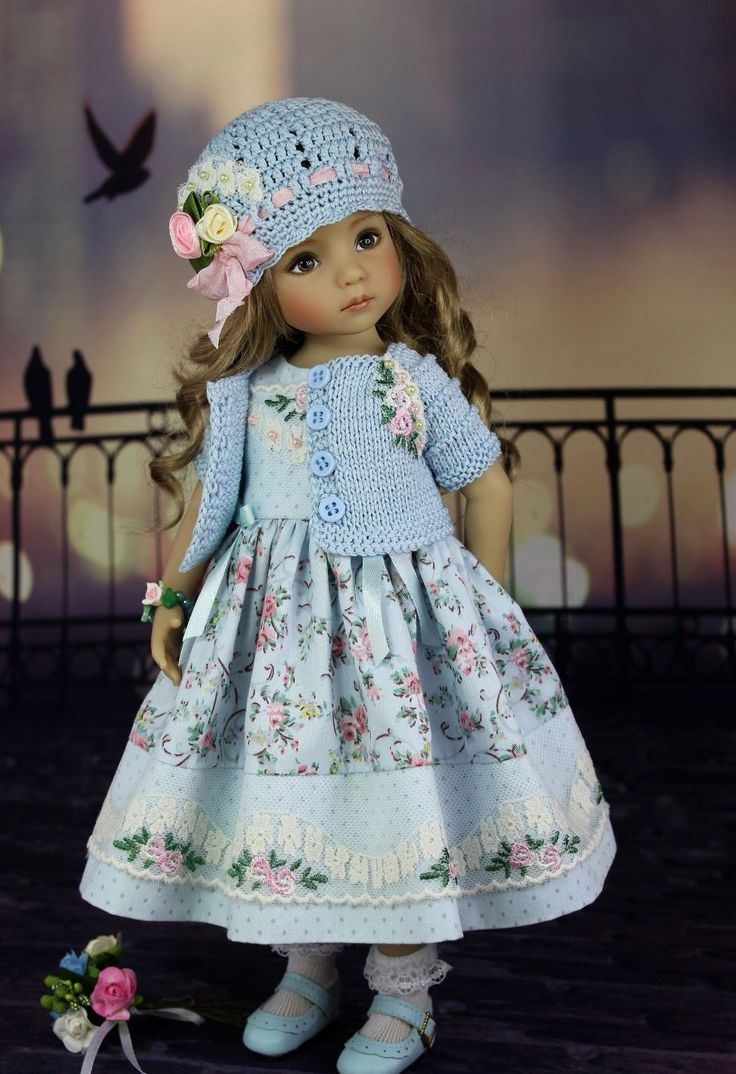 """Outfit for doll 13"""" Dianna Effner Little Darling 
