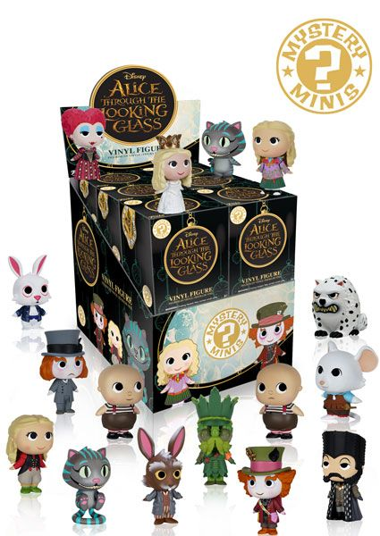 Alice Through the Looking Glass Mystery Mini figures by Funko