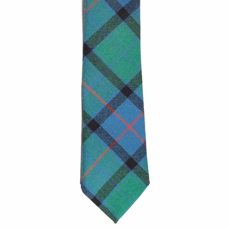Flower of Scotland Tartan Tie from Gretna Green #TartanTie #PlaidTie