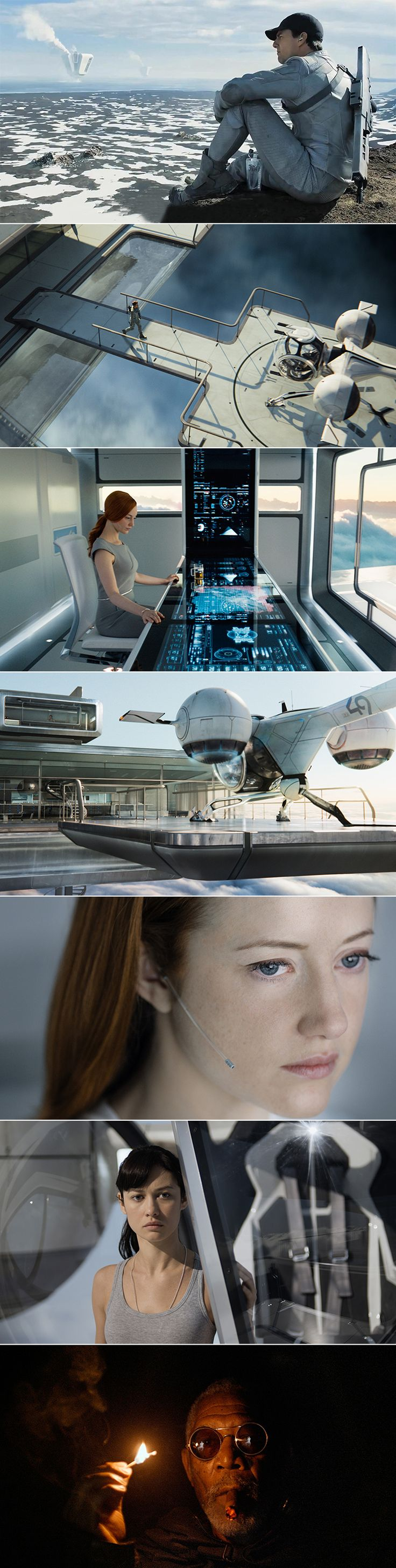 Oblivion (2013) Re-watched this movie twice - it is beautifully filmed, special effects, style and graphics are mesmerising, and also I love the various transformations of Andrea Riseborough!