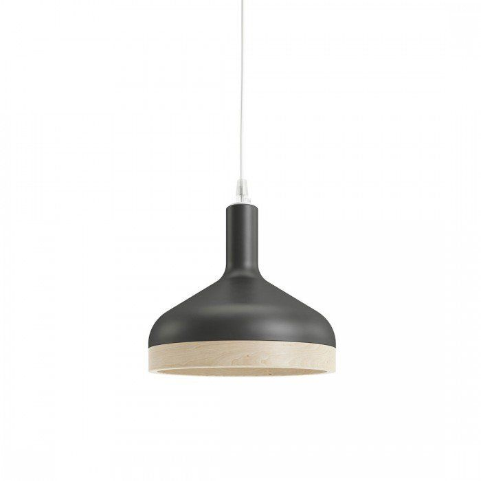 Lampada Plera Nero opaco by Enrico Zanolla