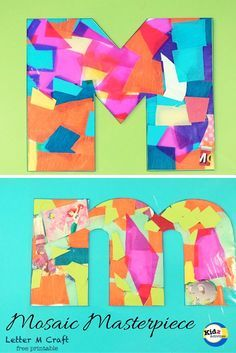 Letter M Craft for Toddlers - Kidz Activities