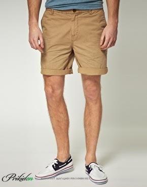 Мужкие коричневые шорты