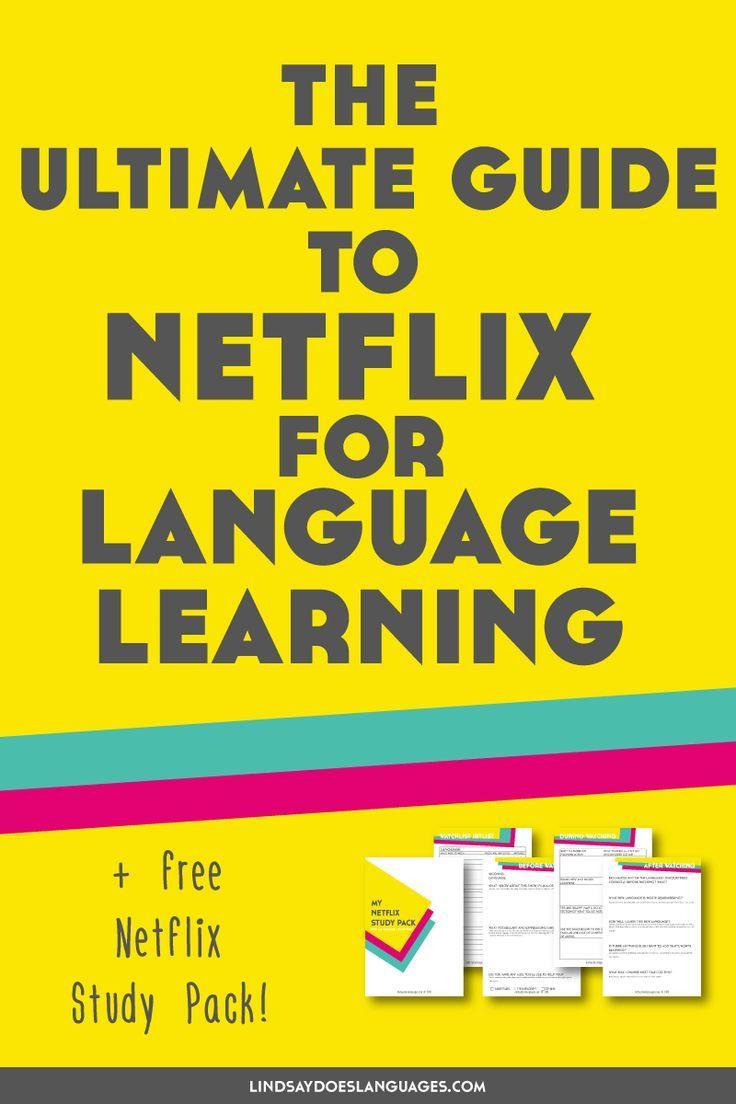 Netflix ist nicht nur eine einfache Uhr, sondern auch ein Fremdsprachenlernen. Hier