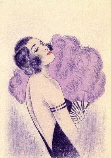 Chic flapper loveliness. #vintage #1920s #flappers