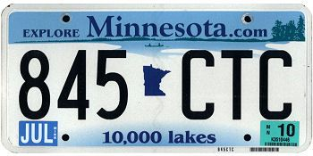 98 best images about all us license plates on pinterest for Motor vehicles state mn us