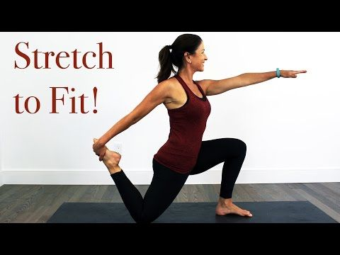 "Post Workout ""Stretch to Fit"" Flexibility Routine - YouTube"