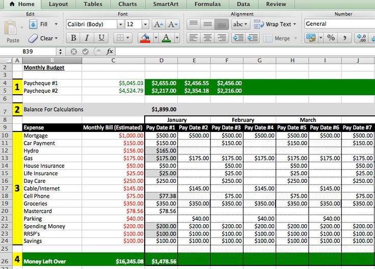 Best Excel Templates Images On   Role Models