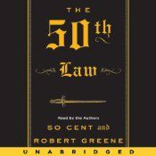 The 50th Law by Robert Greene and 50 cent[5/5] This to date is my favorite book.dont judge a book by its cover,it was only funded by 50 cent, it was written by Robert Greene. The book gives 10 lessons to living life fearless that are essential to success in the real world.