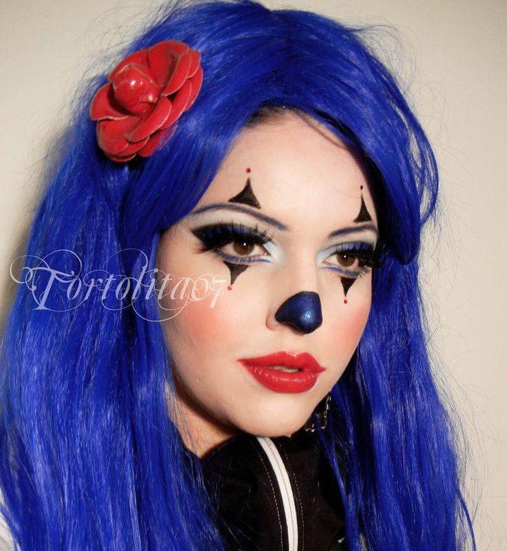 52 best clowns images on Pinterest   Clown costumes, Clown faces ...