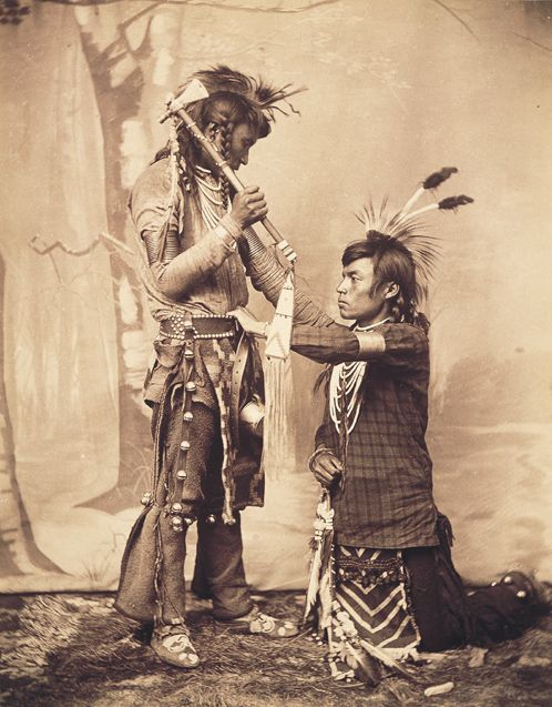Boorne & May photo, Sarcee 1891