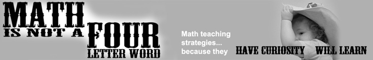 math is not a four letter word......GREAT ideas & resources: Homeschool Mathgood, Teaching Math, Letters Words, Math Teaching, Math Website, Math Books, Teaching Strategies, Homeschool Math Good, Multiplication Tricks
