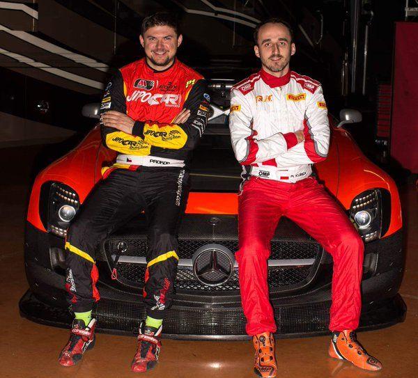 BRAKING NEWS!! @ProkopOfficial and Robert Kubica at 12h Mugello in Mercedes SLS GT3 !!!