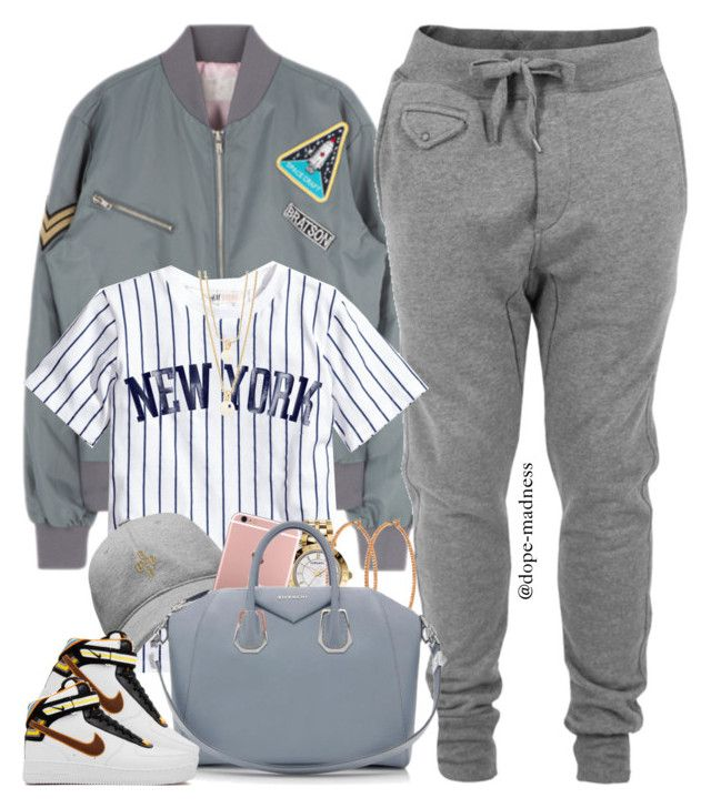 """""""#PrayForParis"""" by dope-madness ❤ liked on Polyvore featuring Diesel, October's Very Own, Versace, Henri Bendel, Givenchy and Kate Spade"""