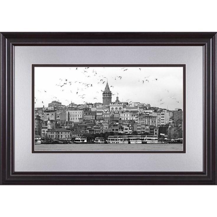 'Galata Tower' by MINART Gallery For different varieties go to www.minart.co #minart #minartco #minartistanbul #instagram #photography #frame #prints #wallart #walldesign #gallerywall #art #design
