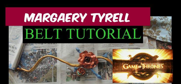 Margaery Tyrell Belt | Cosplay Tutorial #margaerytyrell #cosplay #belt #margaerybelt #margaery #tutorial #margaerybelttutorial #margaerytyrellcosplay #margaerytyrelltutorial #cosplaytutorial #margaerytyrellcosplaytutorial #batgirlgo #spain