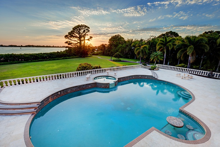 354 best images about my pool on pinterest swimming pool for Pool designs florida