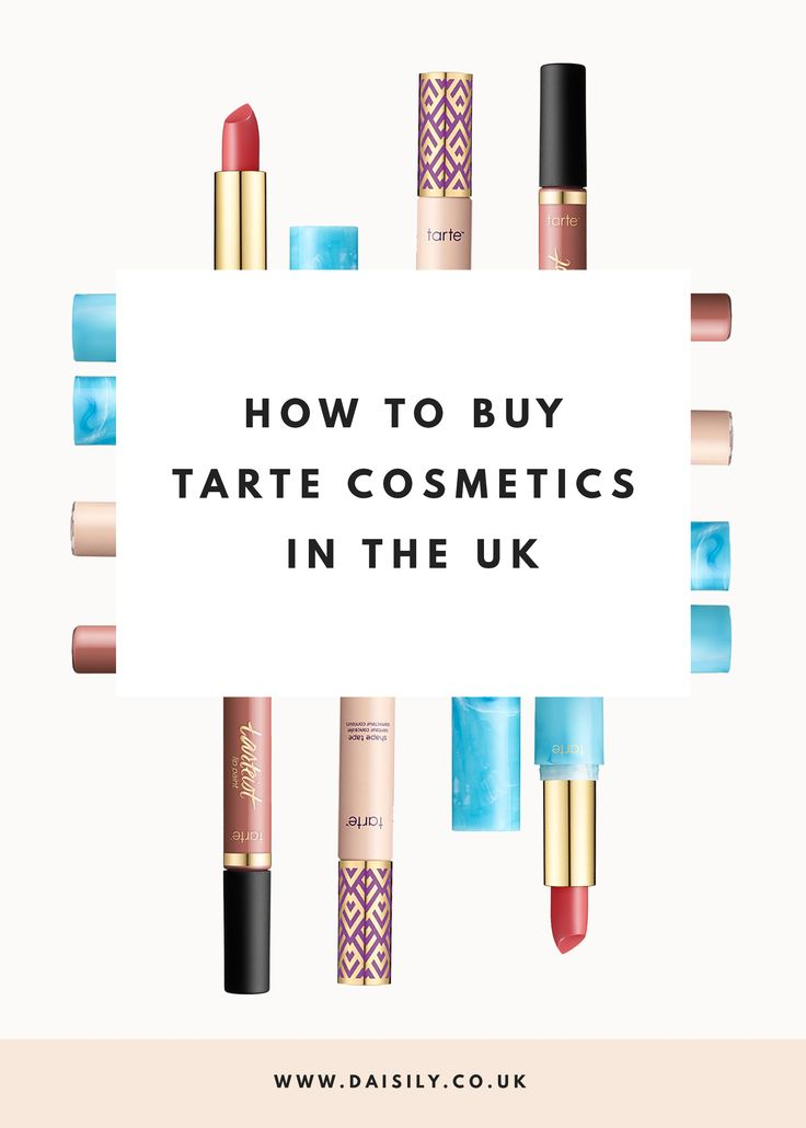 Tarte Makeup Brushes: 17+ Best Ideas About Tarte Cosmetic On Pinterest