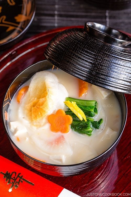 In Japanese households, the traditional way to kick off the new year is with this Ozoni Mochi Soup from Just One Cookbook!