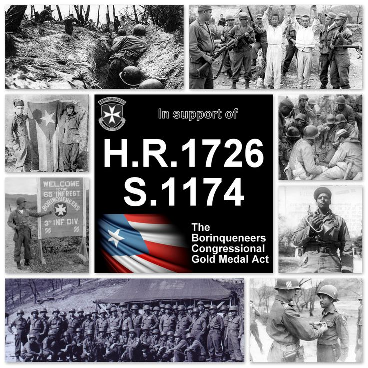 Team up with Borinqueneers Congressional Gold Medal Alliance & join the cause NOW! www.Borinqueneers.org