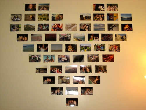 made this for the wall in my dorm last year...people/places/things i love
