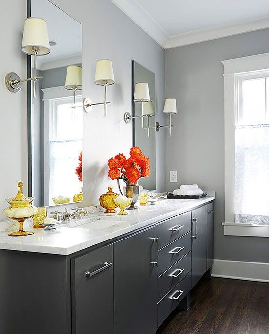 Best Color Bathroom: 17 Best Ideas About Best Gray Paint On Pinterest