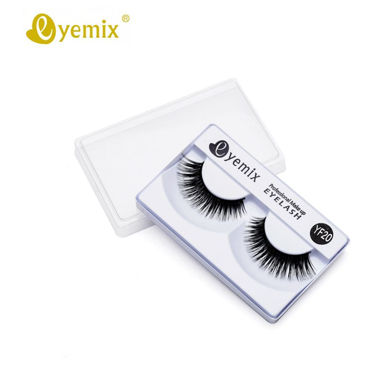 Eyemix High Quality YF20 Eyelash Mink Cilios Posticos False Mink Eyelash For Eyelash Extension Artificial Eyelashes