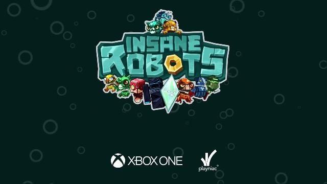 #XBOX Insane Robots - Out On Xbox One on July 13th