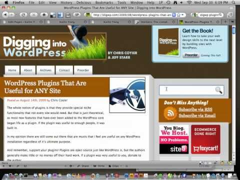 Screencast #73: Building a Website (3 of 3): WordPress Theme