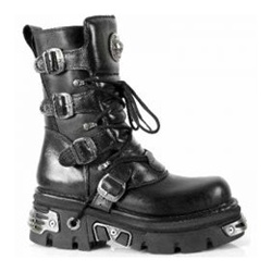 Metallic New Rock Boots