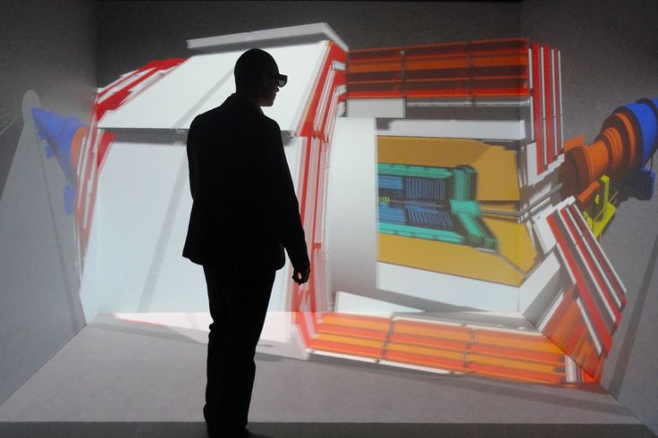 Il CAVE 3D, la stanza futuristica in cui è possibile interagire con ambienti virtuali tridimensionali