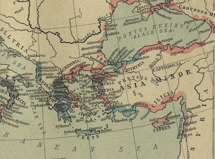 Pontus Euxinus & Asia Minor