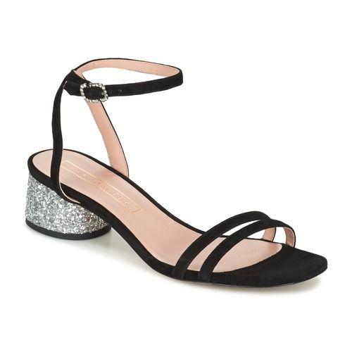 Marc Jacobs OLIVIA ANKLE STRAP Preto - Entrega gratuita com a Spartoo.pt ! - Sapatos Sandálias Mulher 271,80 €