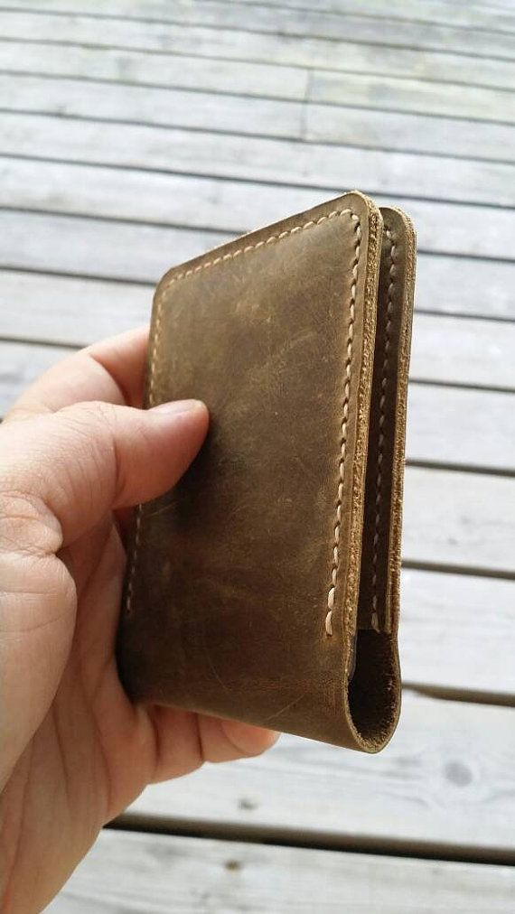 Check out this item in my Etsy shop https://www.etsy.com/listing/459460978/distressed-leather-wallet-cardholder