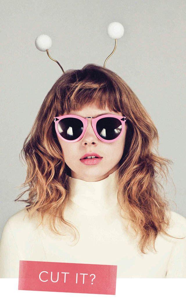 .: Karen O'Neil, Shades, Style, Walker Eyewear, Oakley Sunglasses, Bangs, Karen Walker Sunglasses, Wigs, Aliens