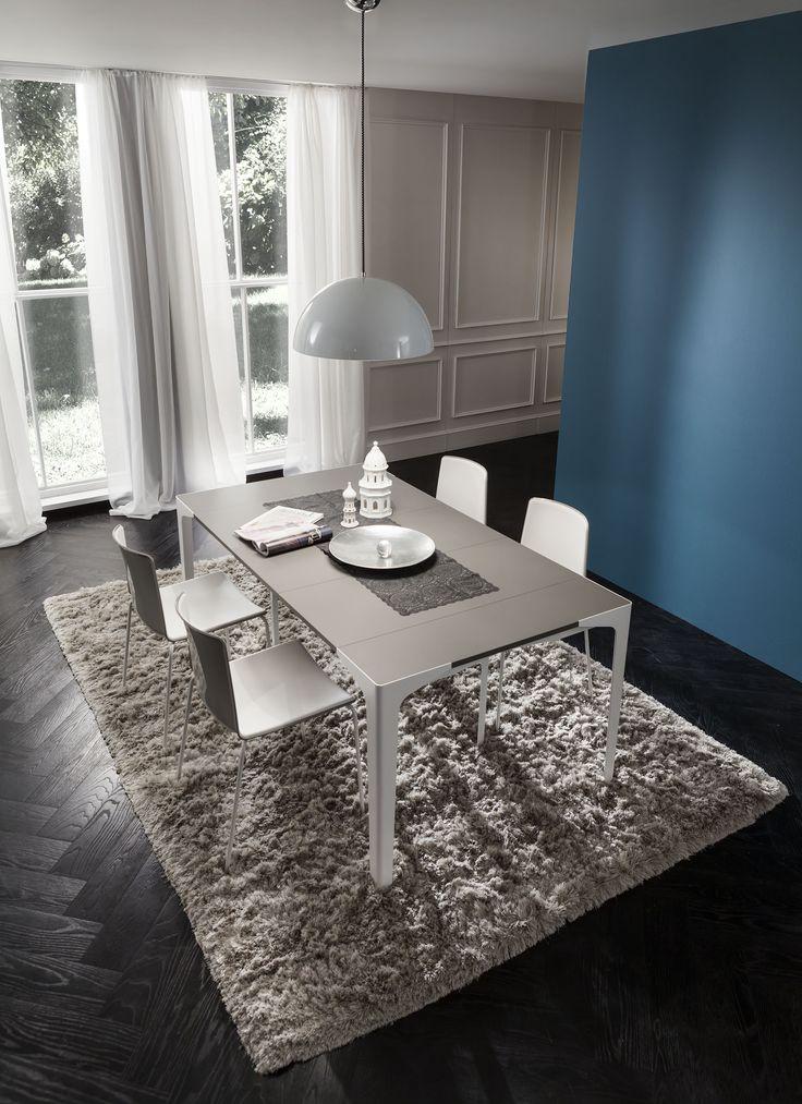Table/Console, made of FENIX NTM Castoro Ottawa. Designed by La Primavera.
