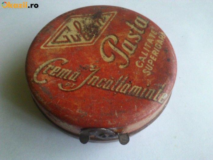 cutie de crema de ghete Guban