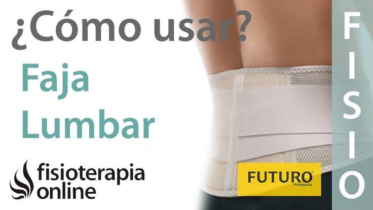 Fajas lumbares - Cuándo y cómo usar una ortesis para el dolor de espalda