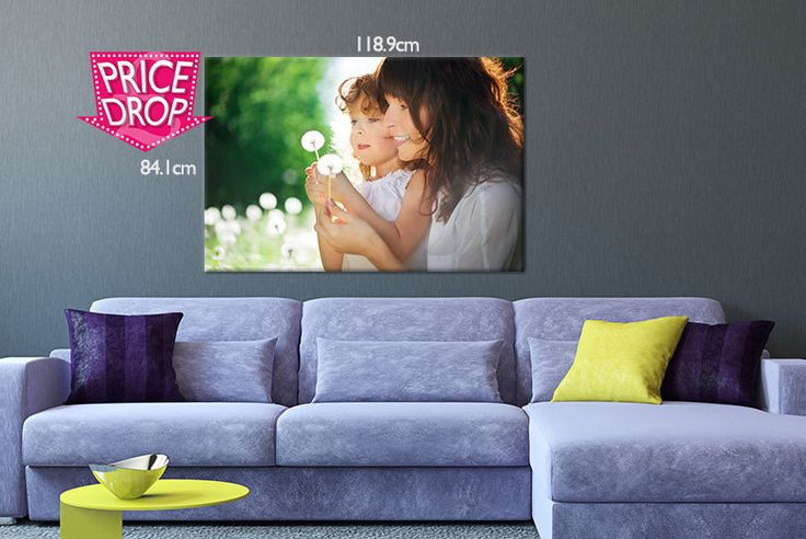 """XXL Photo Canvas deal in Art Get a personalised photo canvas.  A0 canvas size is 40"""" x 30"""".  300gsm high-quality, matte white canvas with fir timber frame.  Easy-to-use uploader tool - just pick your favourite picture.  Perfect feature piece for any room!  Makes a lovely Christmas gift. BUY NOW for just £16.99 Check more at http://nationaldeal.co.uk/xxl-photo-canvas-deal-in-art-2/"""