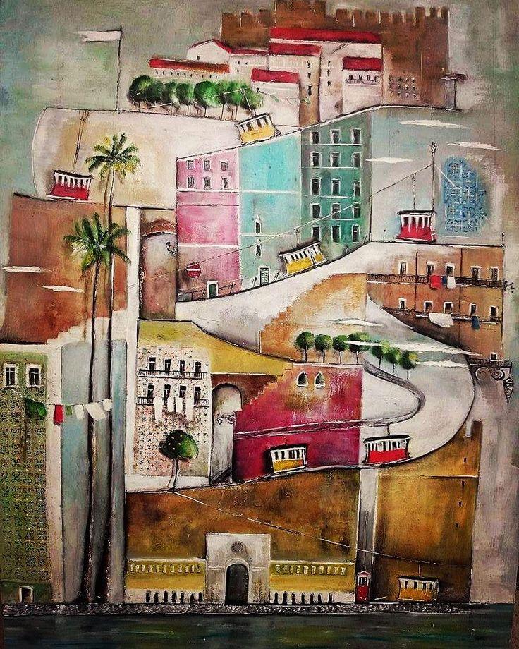 oilpainting,lisbon,art,art home,
