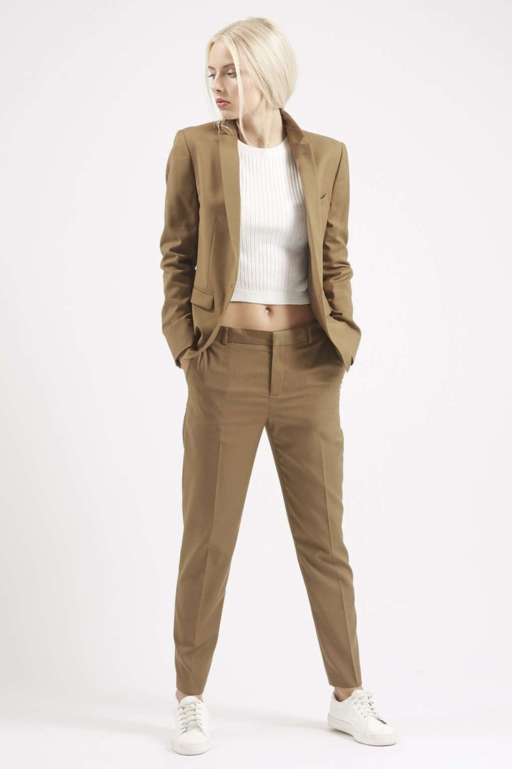 Suit Blazer and Tailored Suit Pants