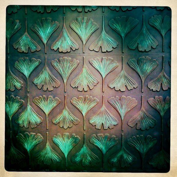 Gingko Gate Texture at the Botanic Gardens, Adelaide, Australia