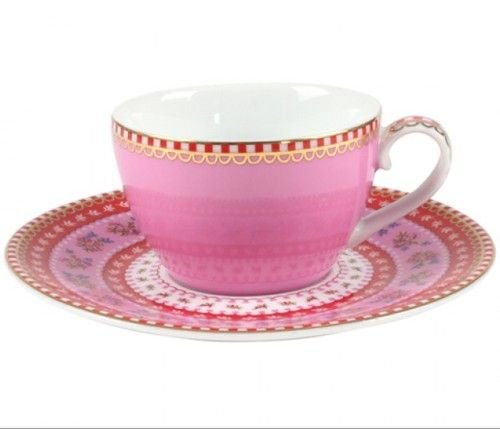 Awesome Discover The Pip Studio Ribbon Rose Espresso Cup U0026 Saucer   Pink At Amara