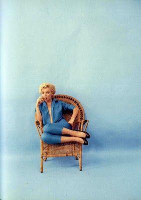 Marilyn Monroe by Milton H Greene.